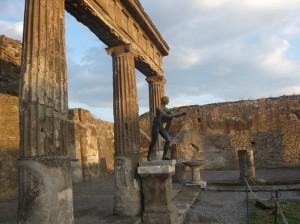 Escultura Pompeya