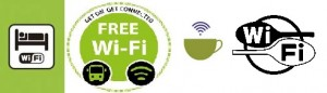 Wifi gratis hotel, restaurant, bus