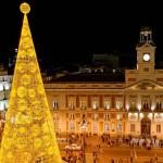 Arbolito de Navidad en Puerta del Sol (Madrid).