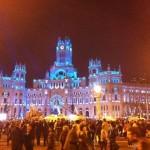 Edificio del Ayuntamiento en Madrid.