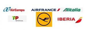 Las 6 aerolíneas que vuelan a Europa